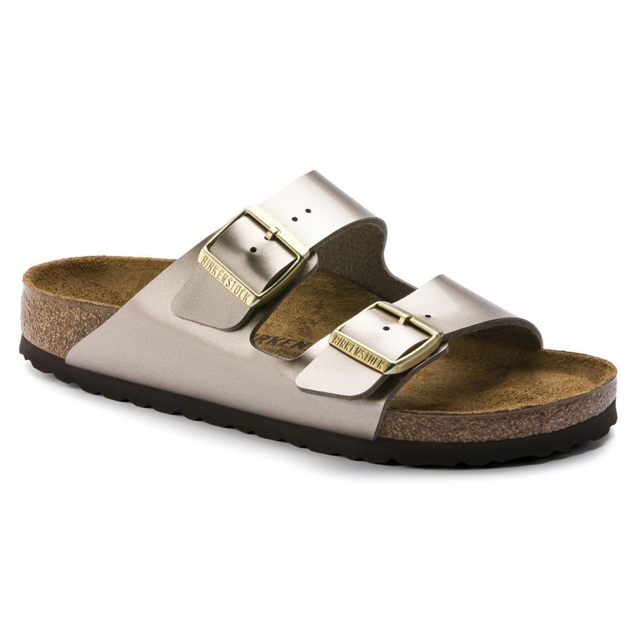 Birkenstock Arizona Electric Metallic Narrow Slipper Dames