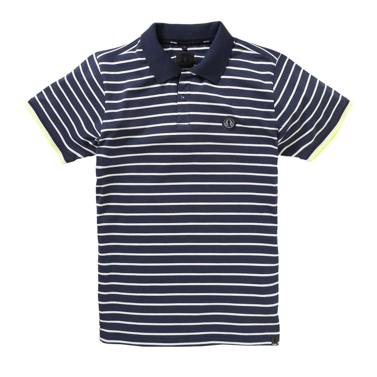 Twinlife Regular Fit Polo Heren