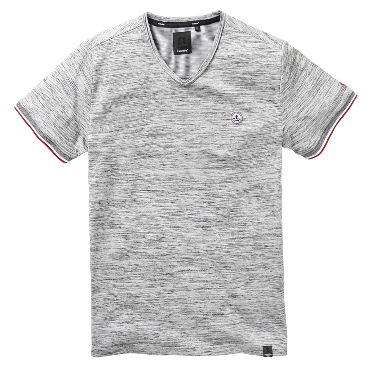 Twinlife Regular Fit T-Shirt Heren