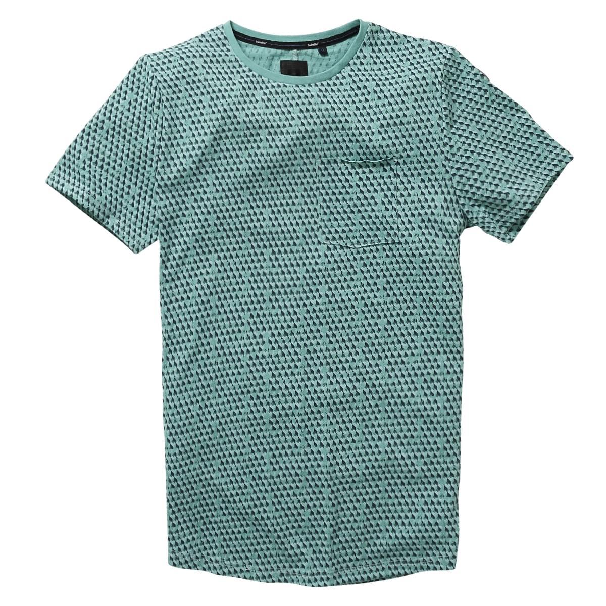 Twinlife Regular Fit T-Shirt Heren
