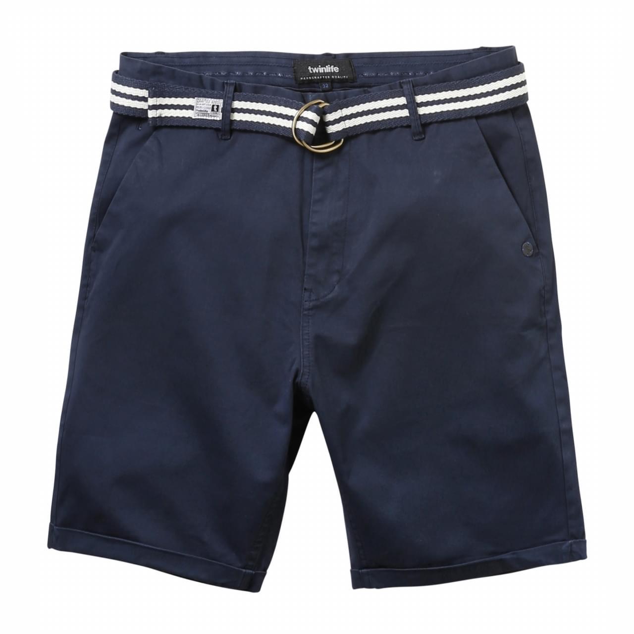 Twinlife Bermuda Korte Broek Heren Blauw