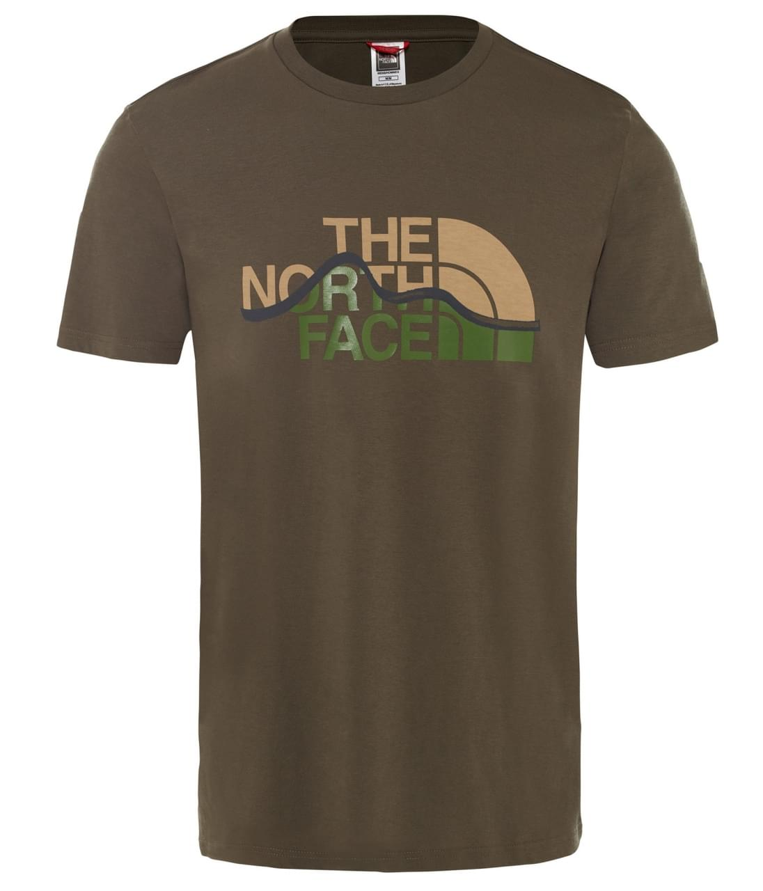 The North Face Mountain Line T-shirt Heren