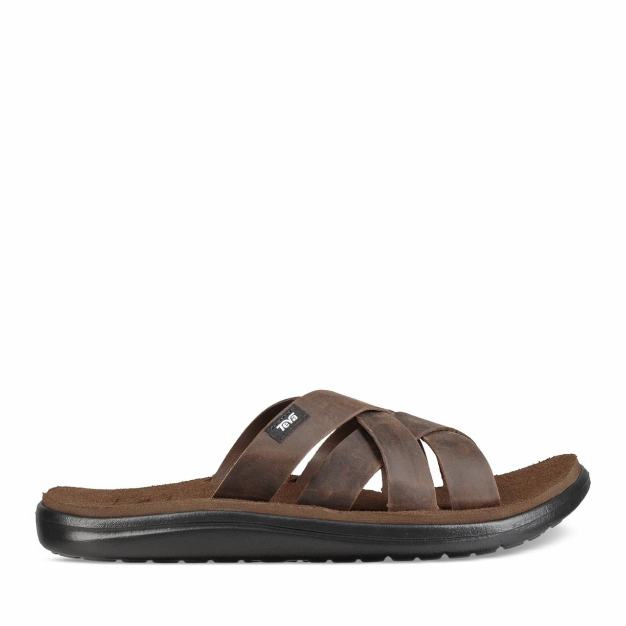 Teva Voya Slide Leather Slipper Heren