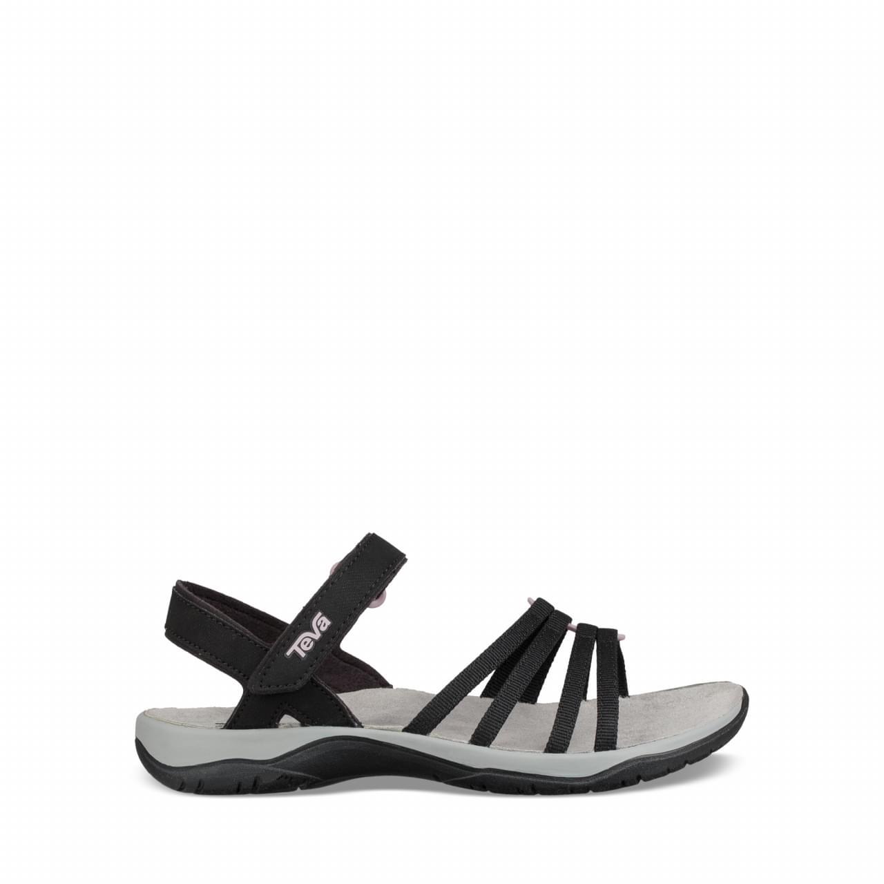 Teva Elzada Web Sandaal Dames Zwart