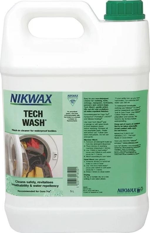 Nikwax Tech Wash 5L Wasmiddel
