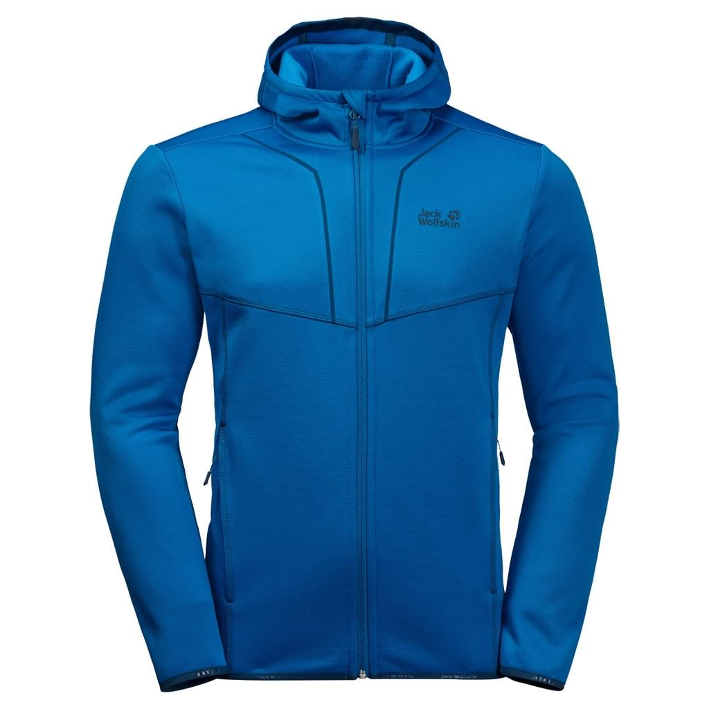 Jack Wolfskin Kiewa Hooded Fleece Jacket Heren