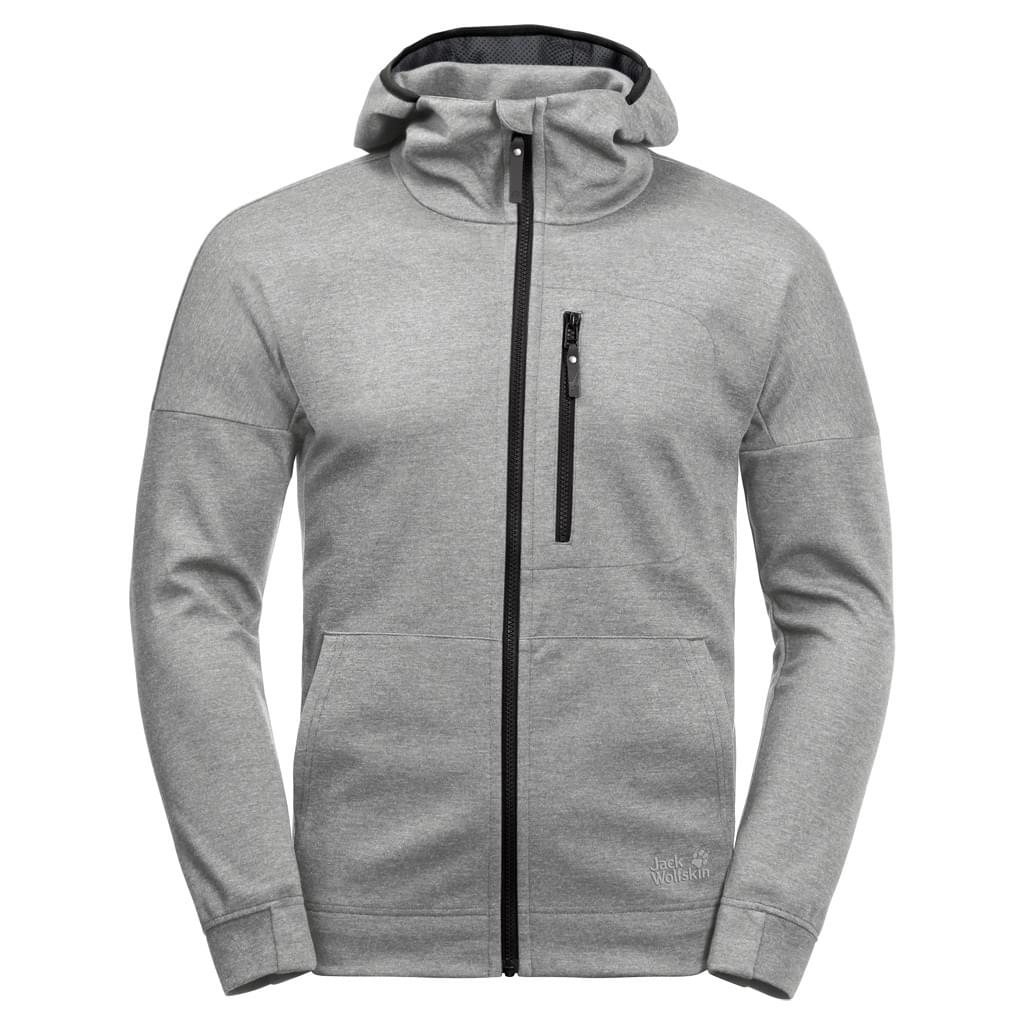 Jack Wolfskin Riverland Hooded Fleece Jacket Heren