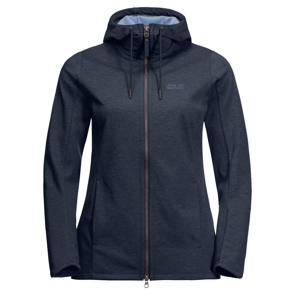 Jack Wolfskin Riverland Hooded Fleece Jacket Dames