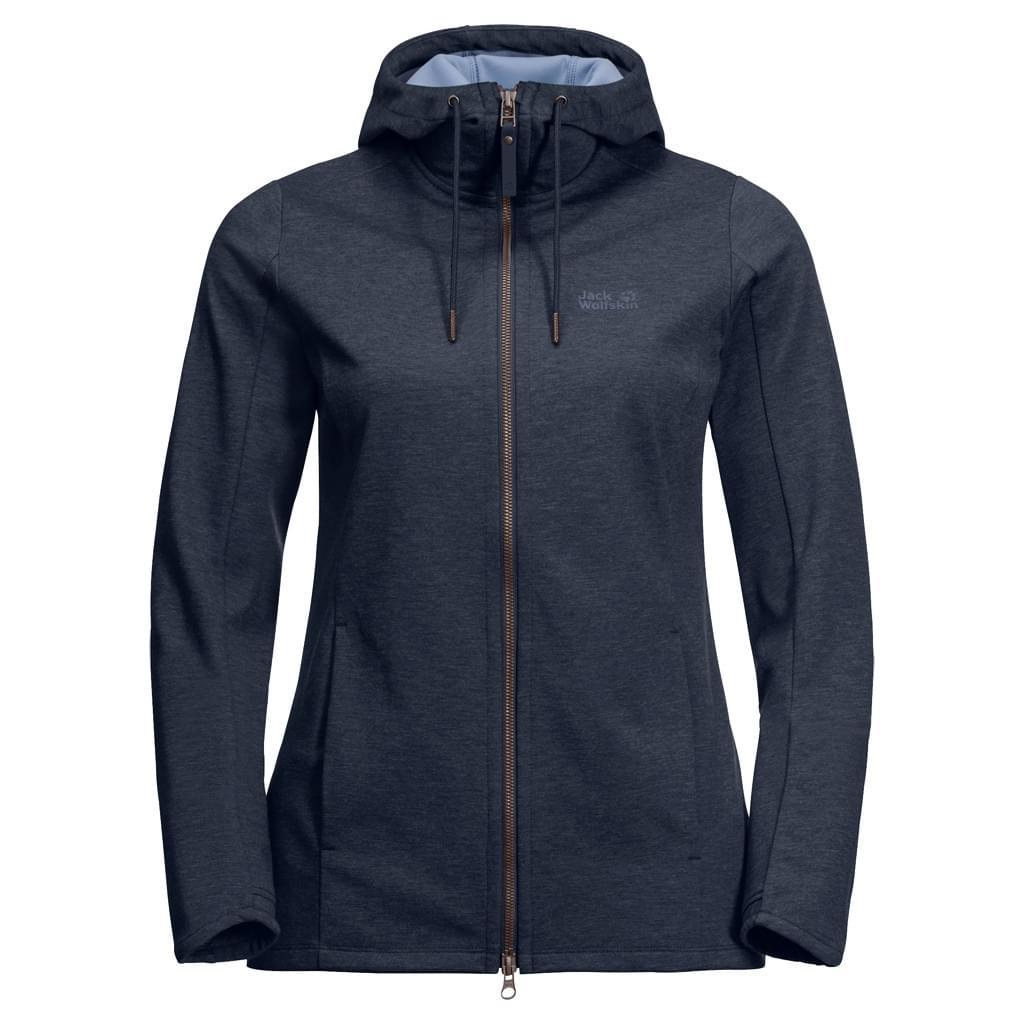 Jack Wolfskin Riverland Hooded Fleece Jacket Dames