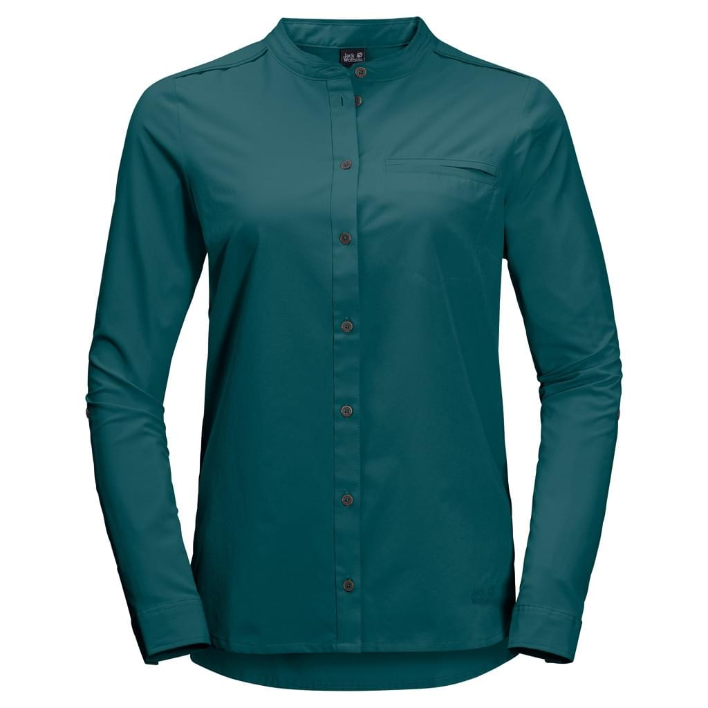 Jack Wolfskin Victoria Roll Up Blouse Dames