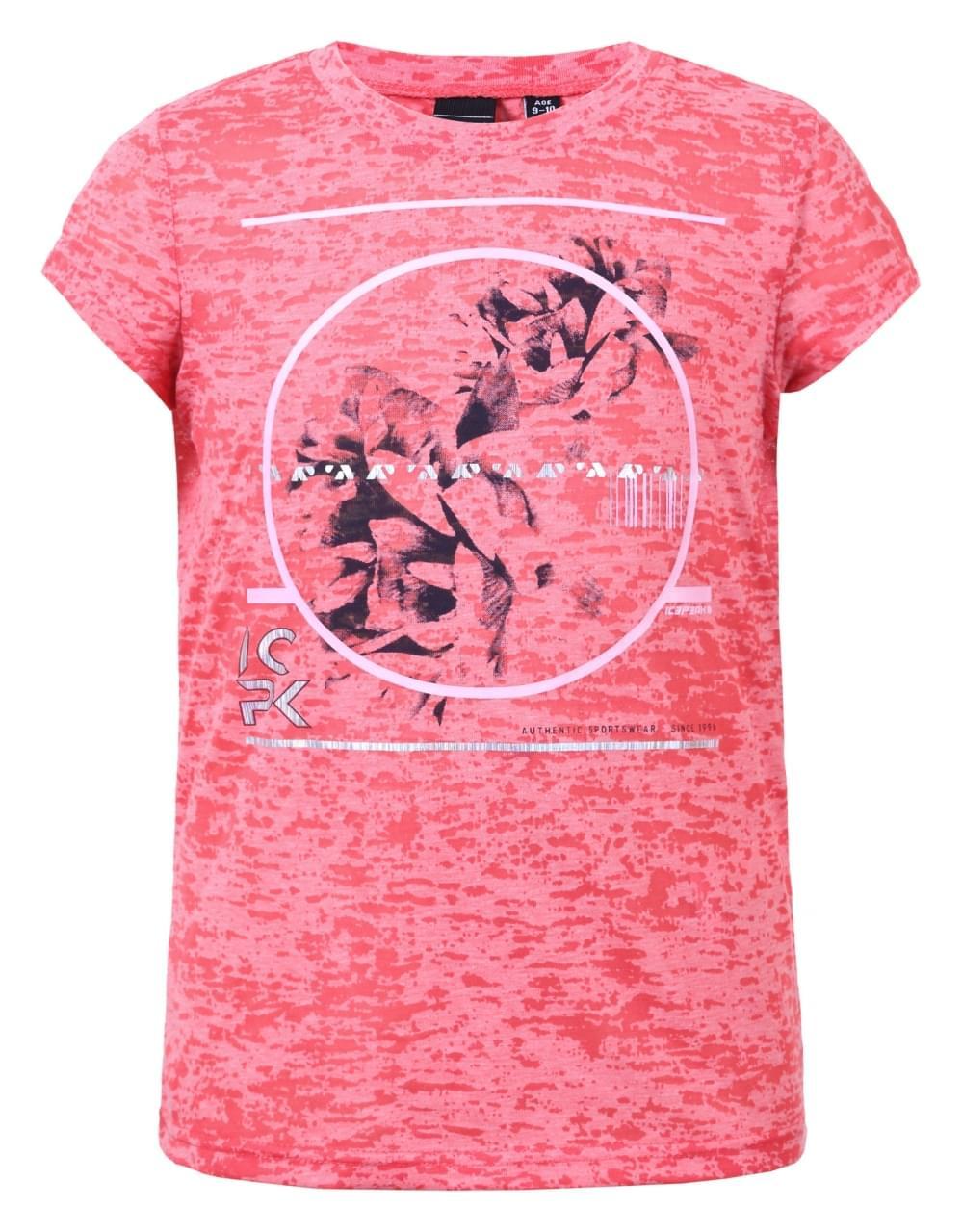 Icepeak Telma T-Shirt Kids Rood