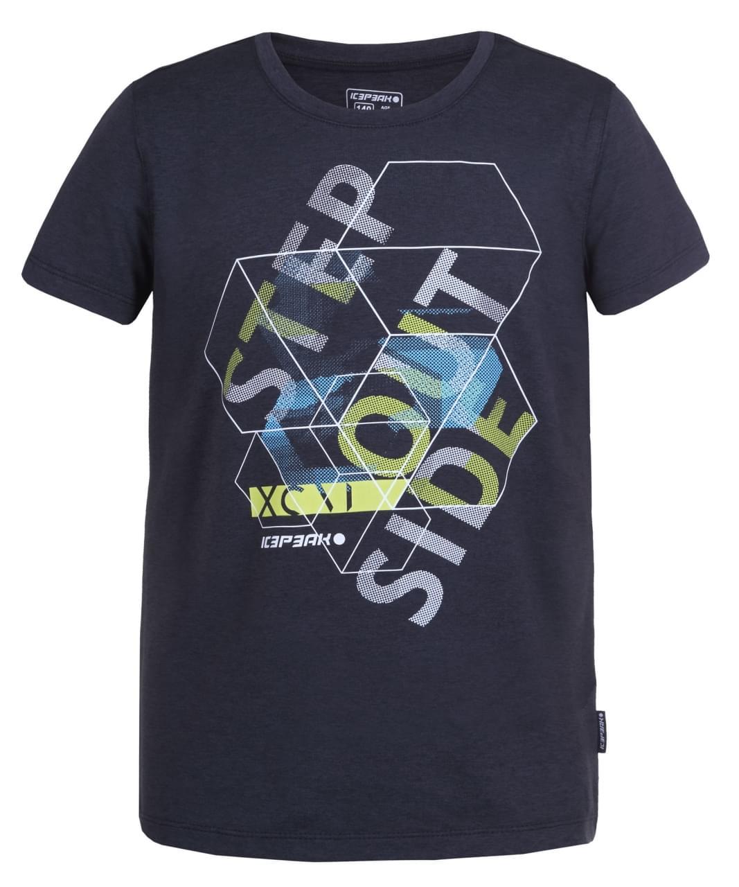 Icepeak Tex T-Shirt Kids Blauw
