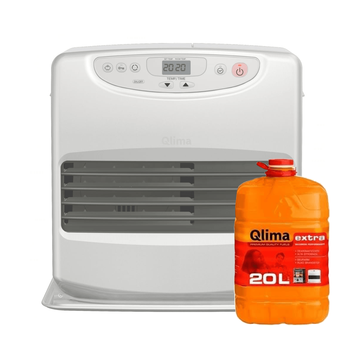 Qlima SRE 8040C Laserkachel + Gratis 20 Ltr Extra Brandstof Qlima > Verwarming » Petroleum kachels > Kachels / verwarming