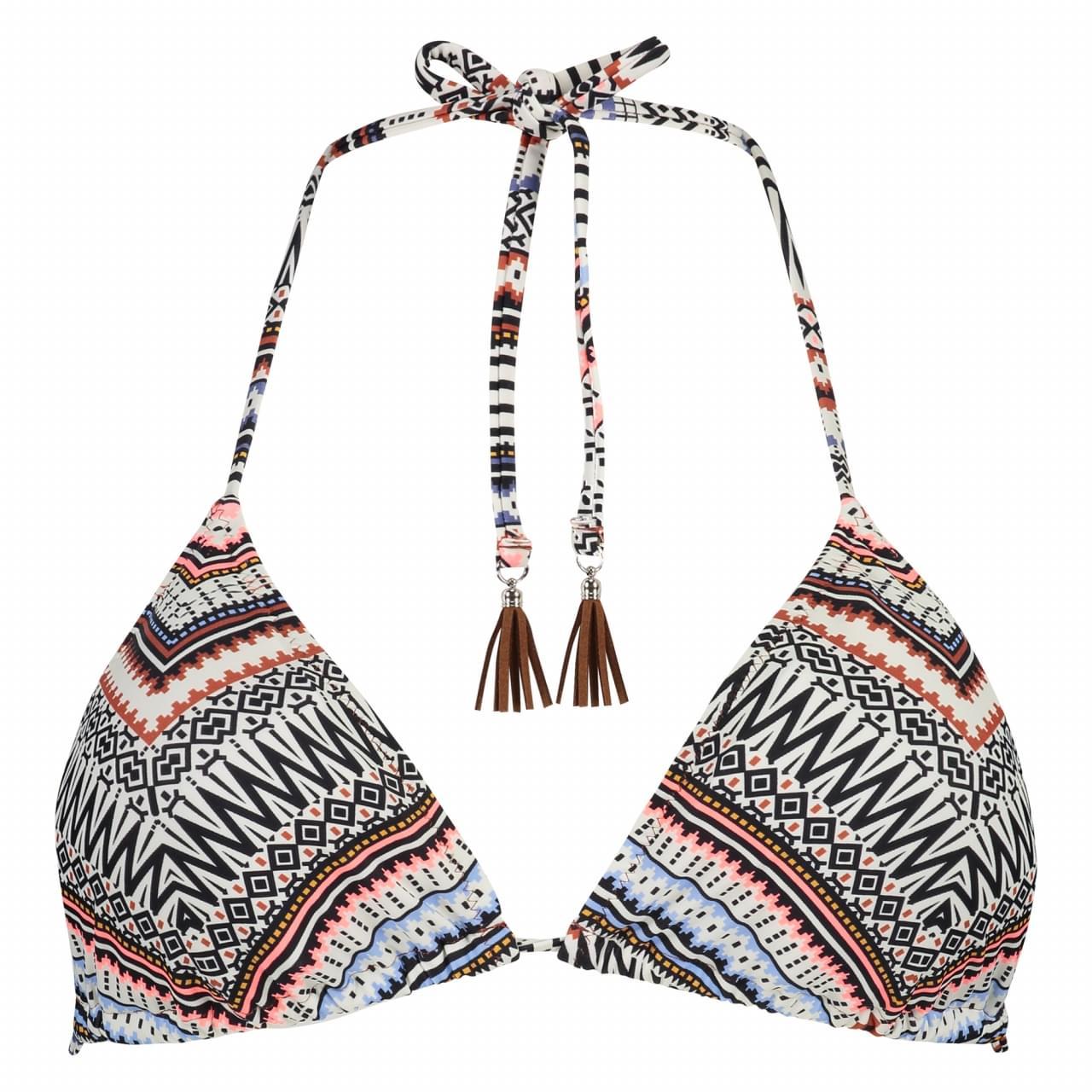 SHIWI Tess Triangle Top Aztec Bikinitop Dames