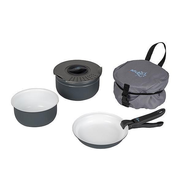 Bo-Camp Pannenset Trekking Ceramic 5-delig