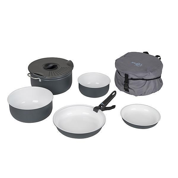 Bo-Camp Pannenset Camping Ceramic 7-delig