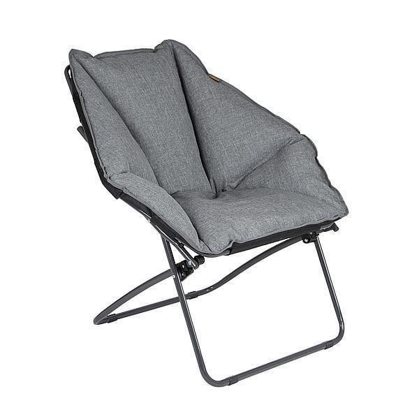 Bo-Camp Urban Outdoor Moon Chair Silvertown