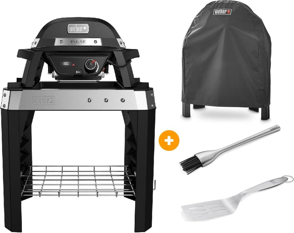 Weber Pulse 1000 Stand - Elektrische Barbecue