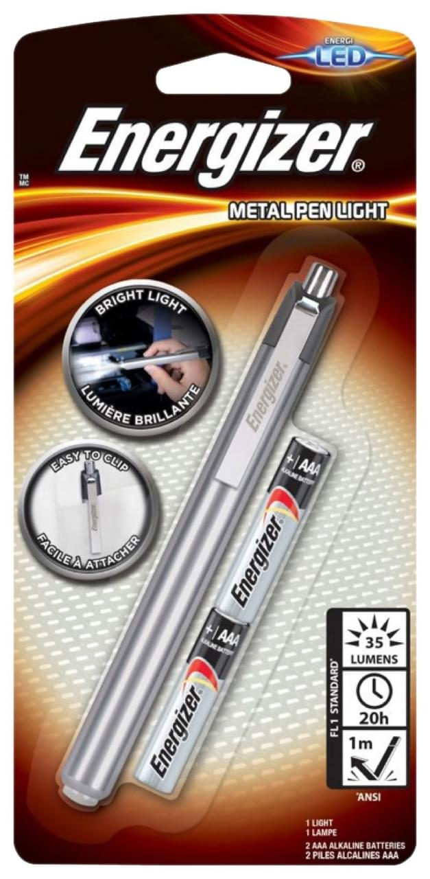 Energizer Metal Penlight zaklamp