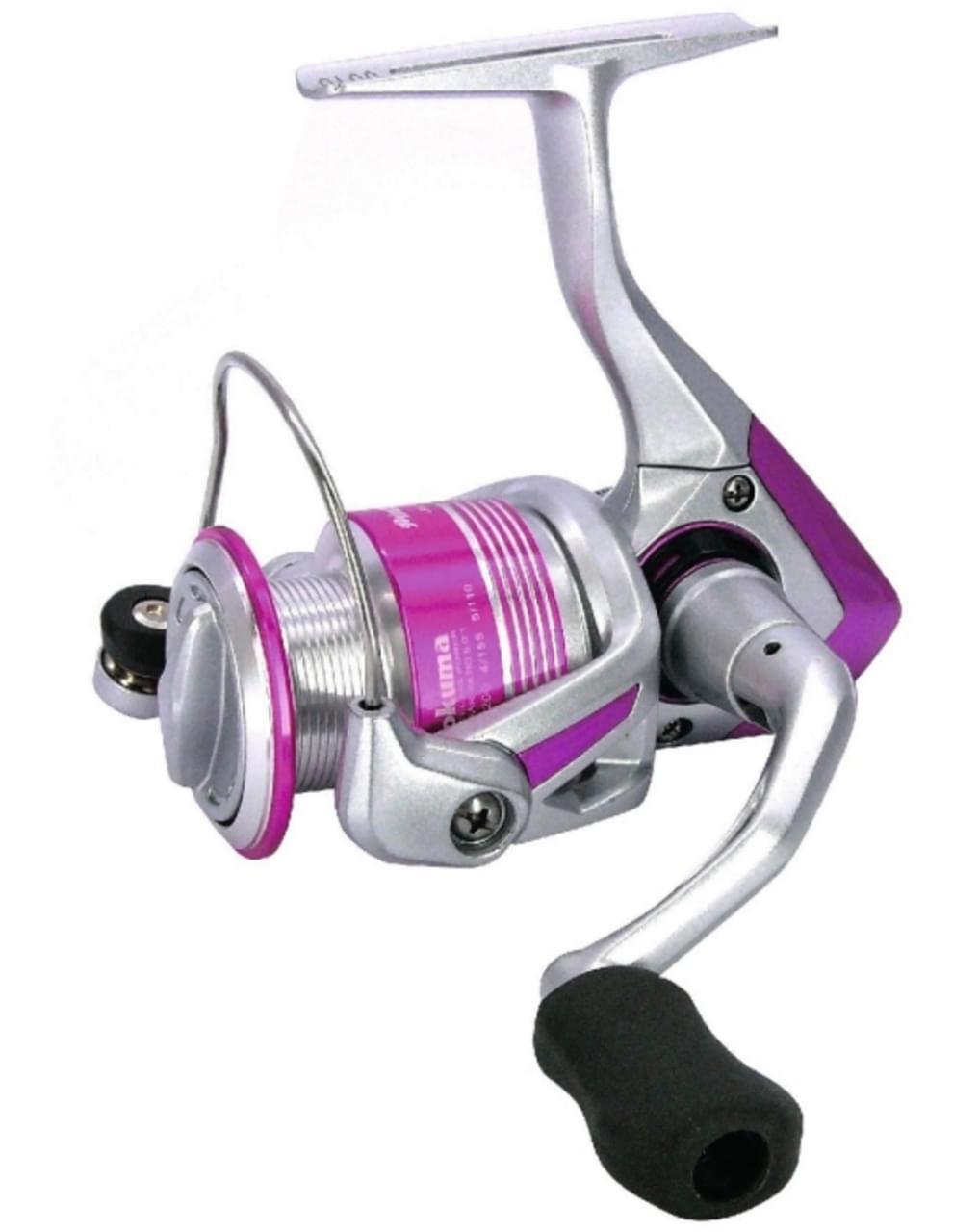 Okuma Pink Pearl 30FD Molen Slip Voorop