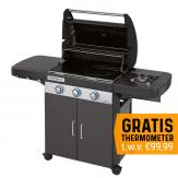 Campingaz 3 Series Classic EXS Black Gasbarbecue