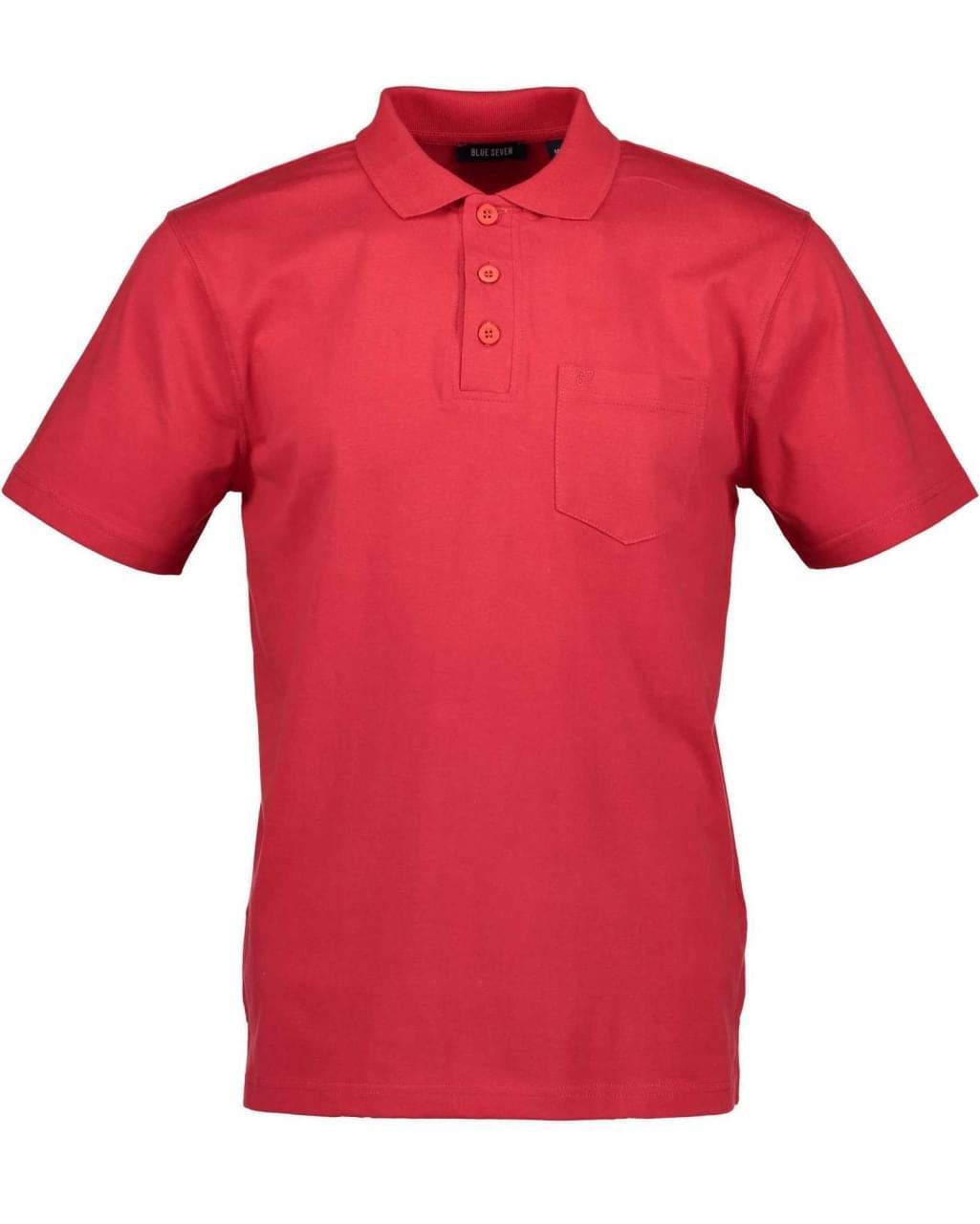 Blue Seven Poloshirt Heren Rood