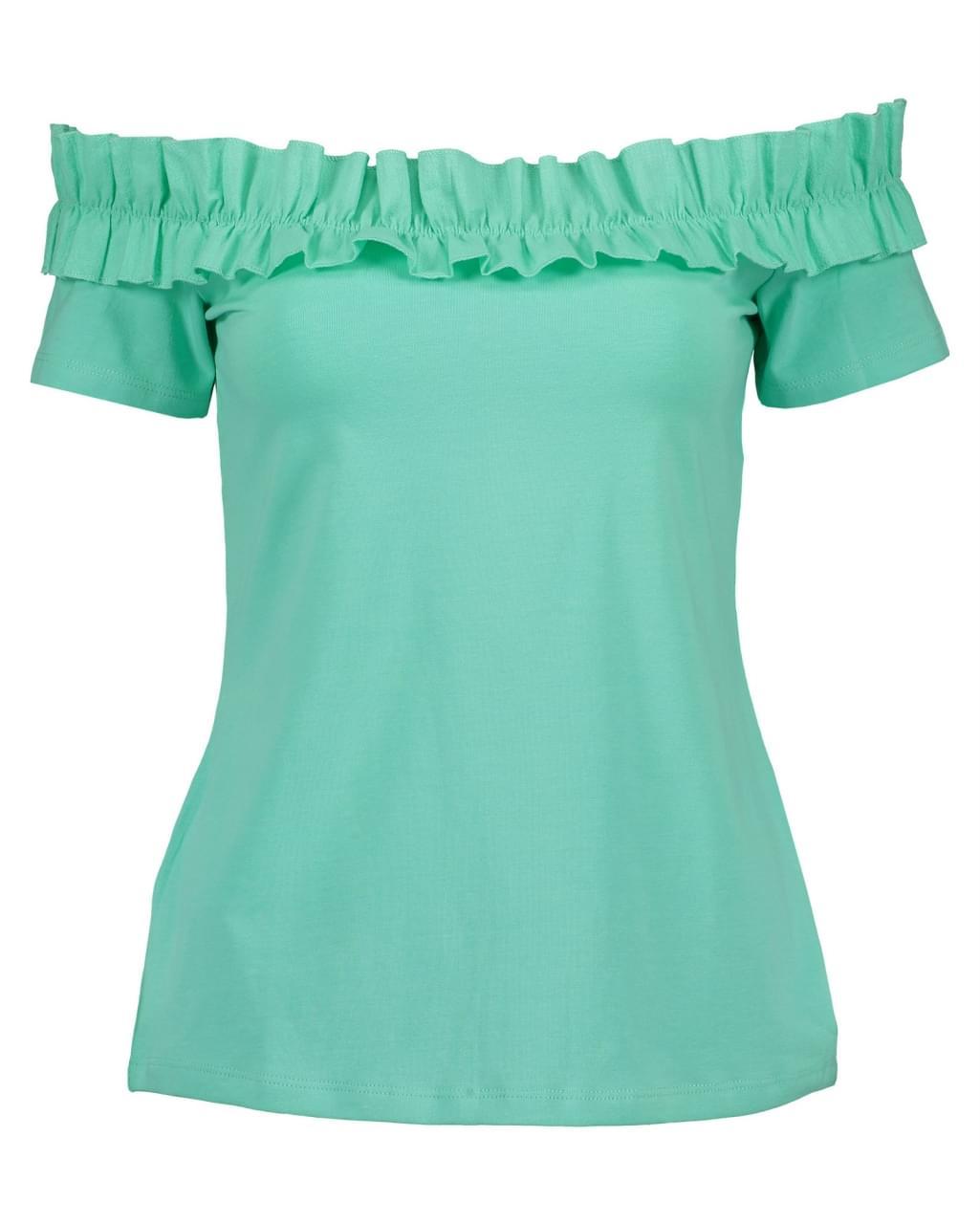Blue Seven Schouder T-Shirt Dames