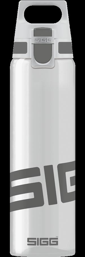 Sigg Total Clear One 0.75L Drinkfles Grijs