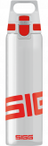 Sigg Total Clear One 0.75L Drinkfles Rood