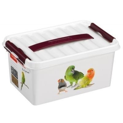 Sunware Q-line Opbergbox Huisdier-opdruk 6L
