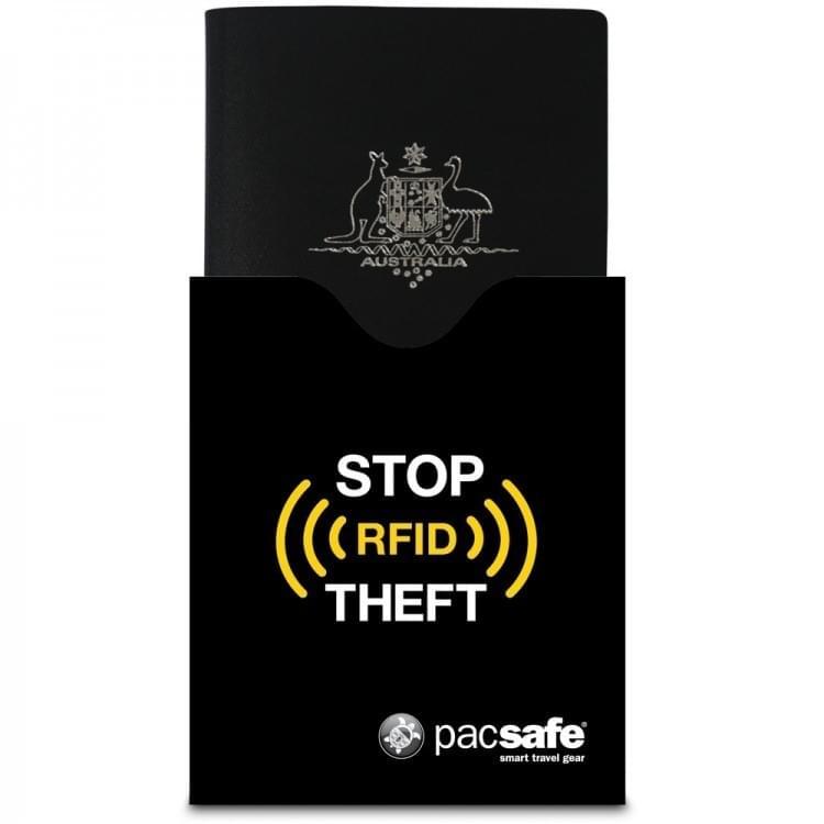 Pacsafe RFIDsleeve 50 RFID-blocking passport protector