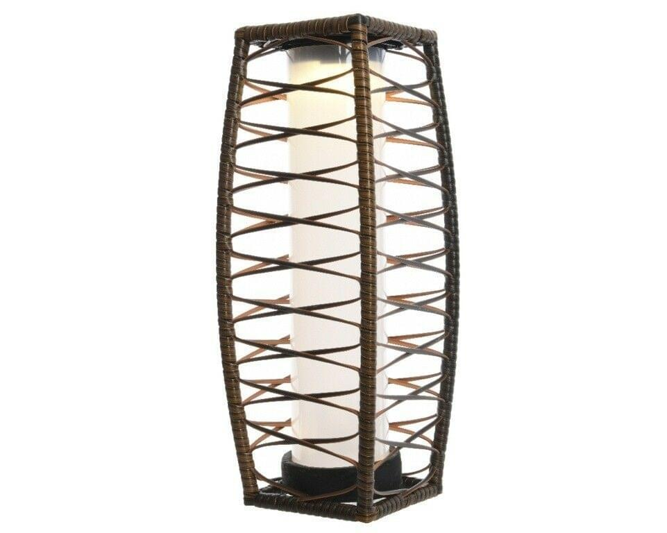 Lumineo LED Solar Wicker Lantaarn 68cm