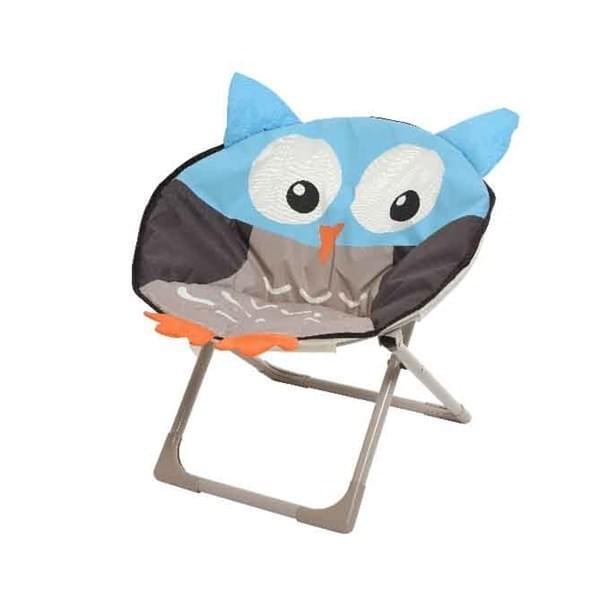 Decoris Uil Kinderstoel - Grijs / Blauw