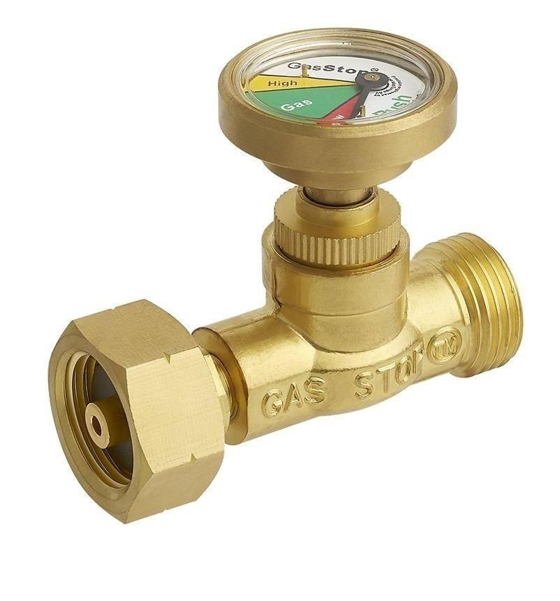 GasStop Gasfleszekering voor Propaangasflessen NL 21,8mm LH (G.5) GSNL1