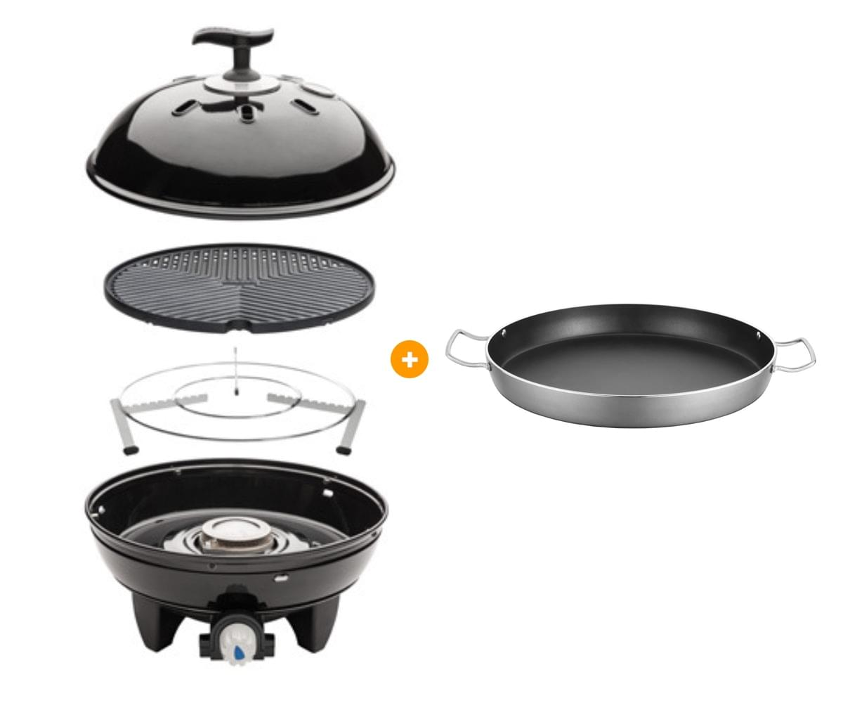 Cadac Grillo Chef Table Top Inclusief Paella Pan Gasbarbecue