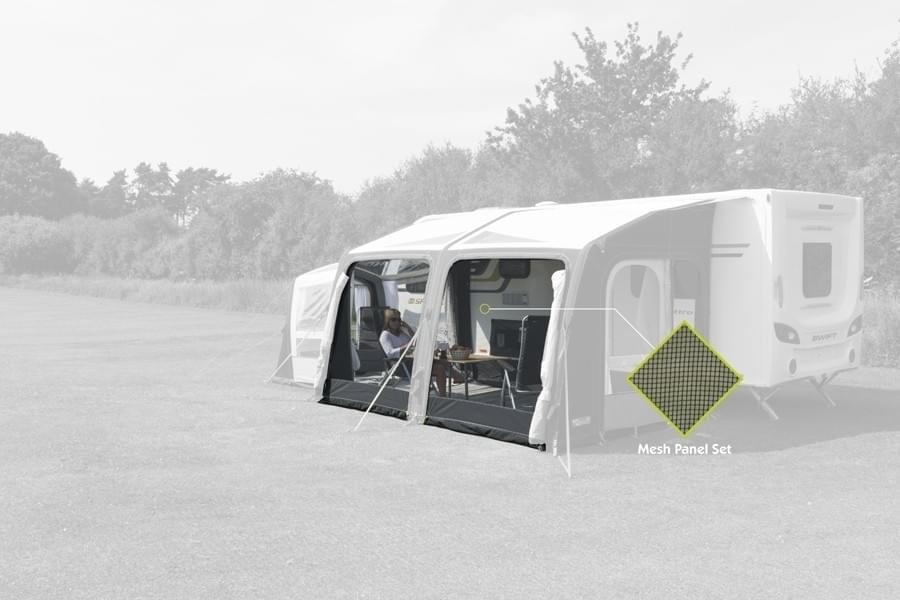 Kampa Club AIR 390 Horgaasset
