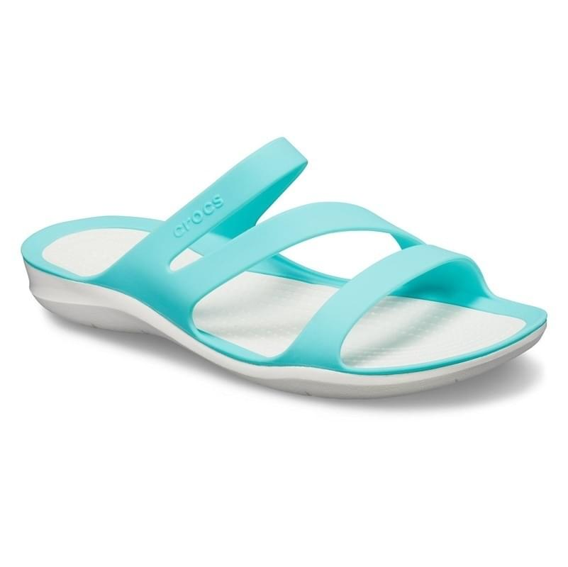 Crocs Swiftwater Slipper Dames Blauw
