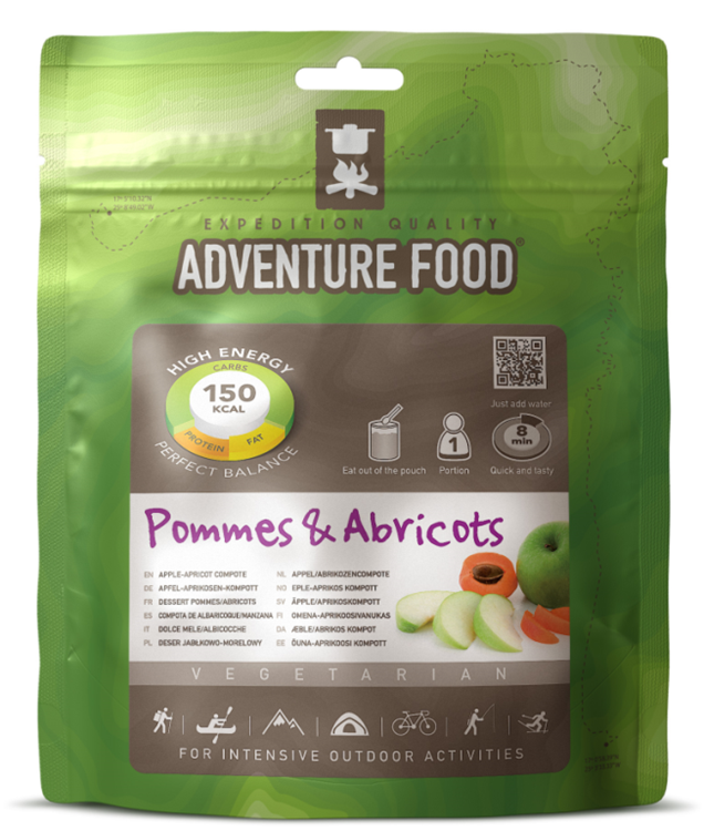 Adventure Food Een portie Pommes & Abricots