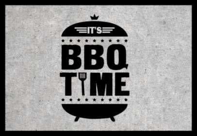 Hamat Deurmat BBQ Time 50x75 cm