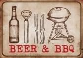 Hamat Deurmat Beer & BBQ 50x75 cm
