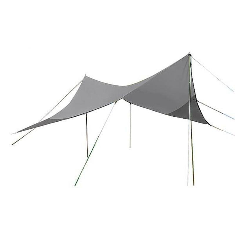 Bo-Camp Travel Tarp - Grijs