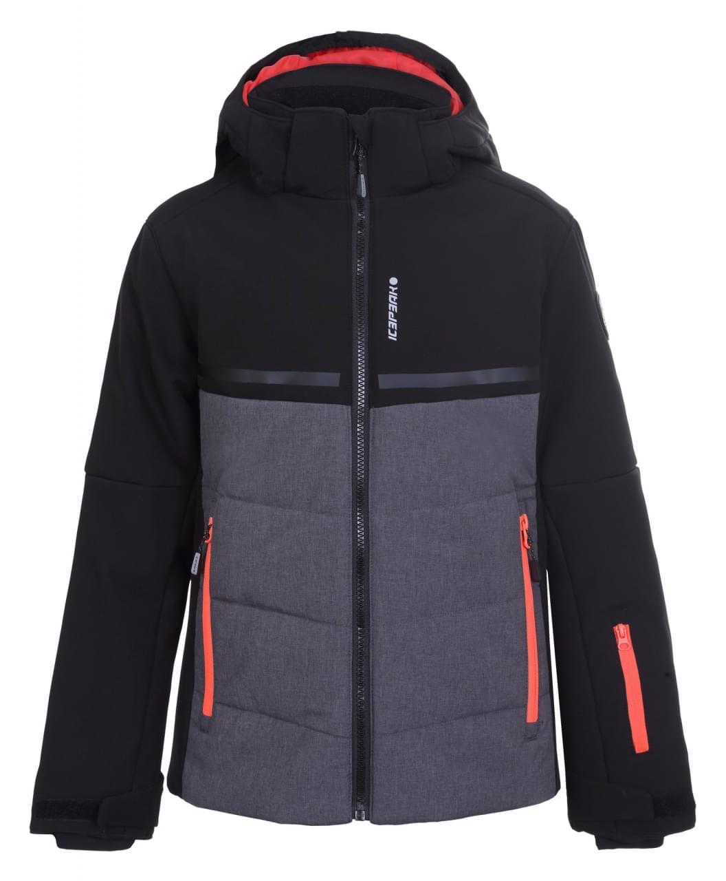 Icepeak Lambert Jr mt. 128 Black Softshell Jacket