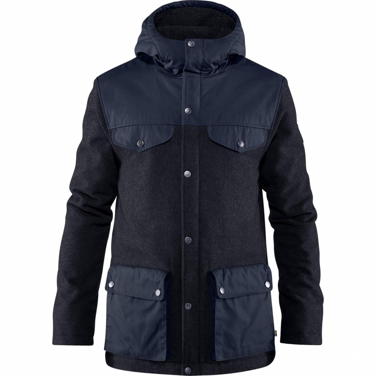 Fjallraven Greenland Re-Wool Jacket Winterjas Heren