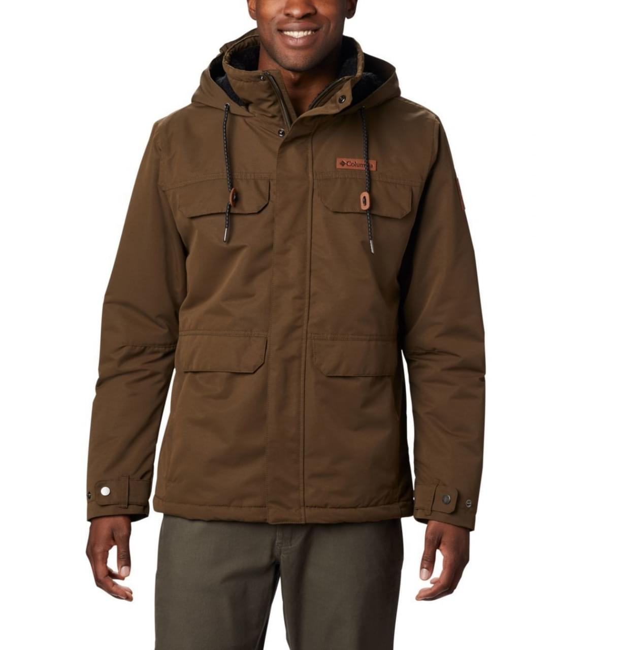 Columbia South Canyon Lined Winterjas Heren