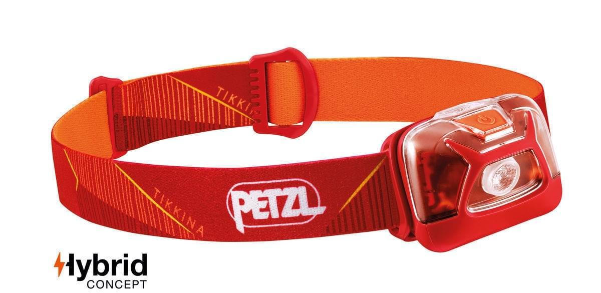 Petzl Tikkina 250 Hoofdlamp Rood