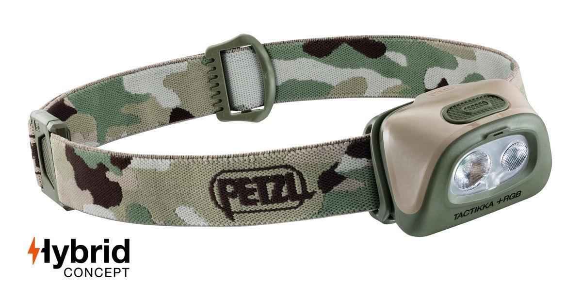 Petzl Tactikka+ RGB 350 Hoofdlamp Camouflage