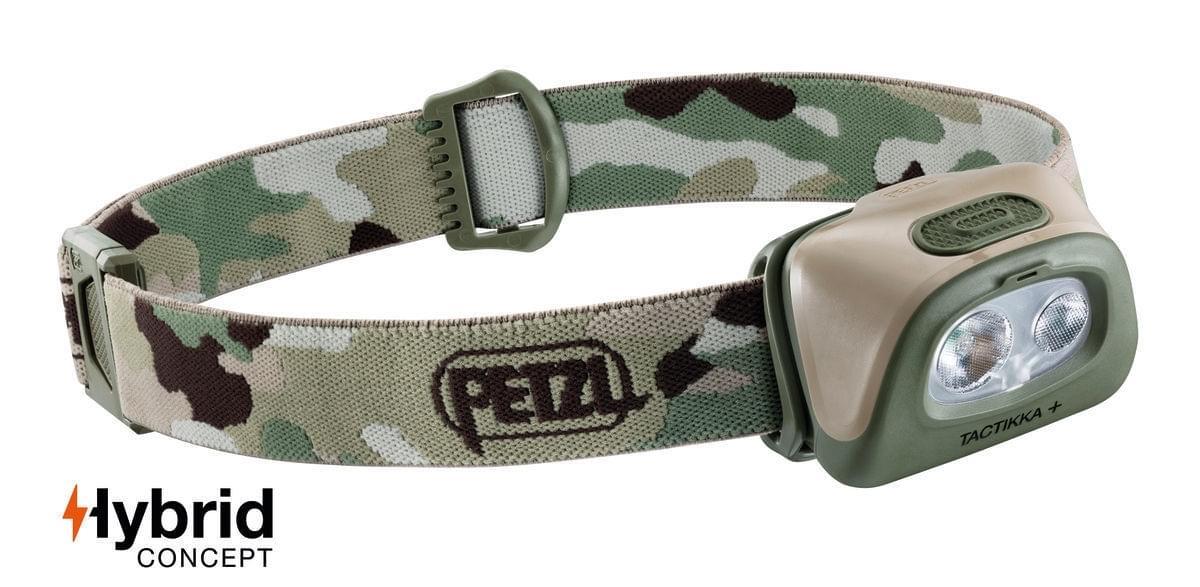 Petzl Tactikka+ 350 Hoofdlamp Camouflage