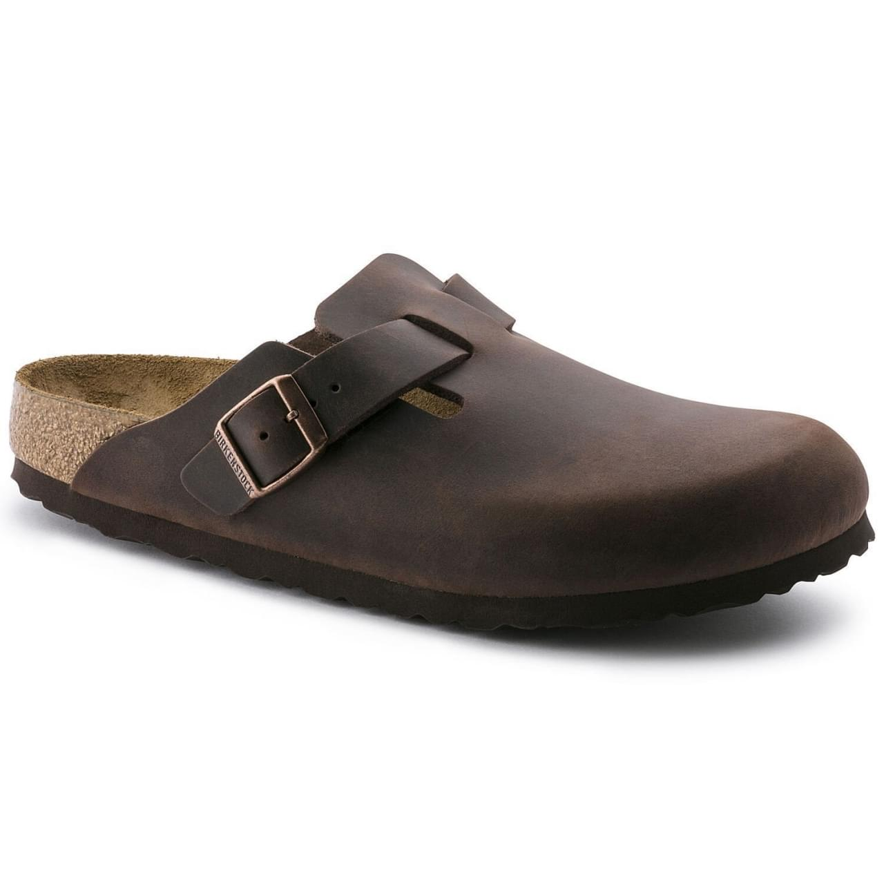 Birkenstock Boston Oiled Leather Klomp Unisex