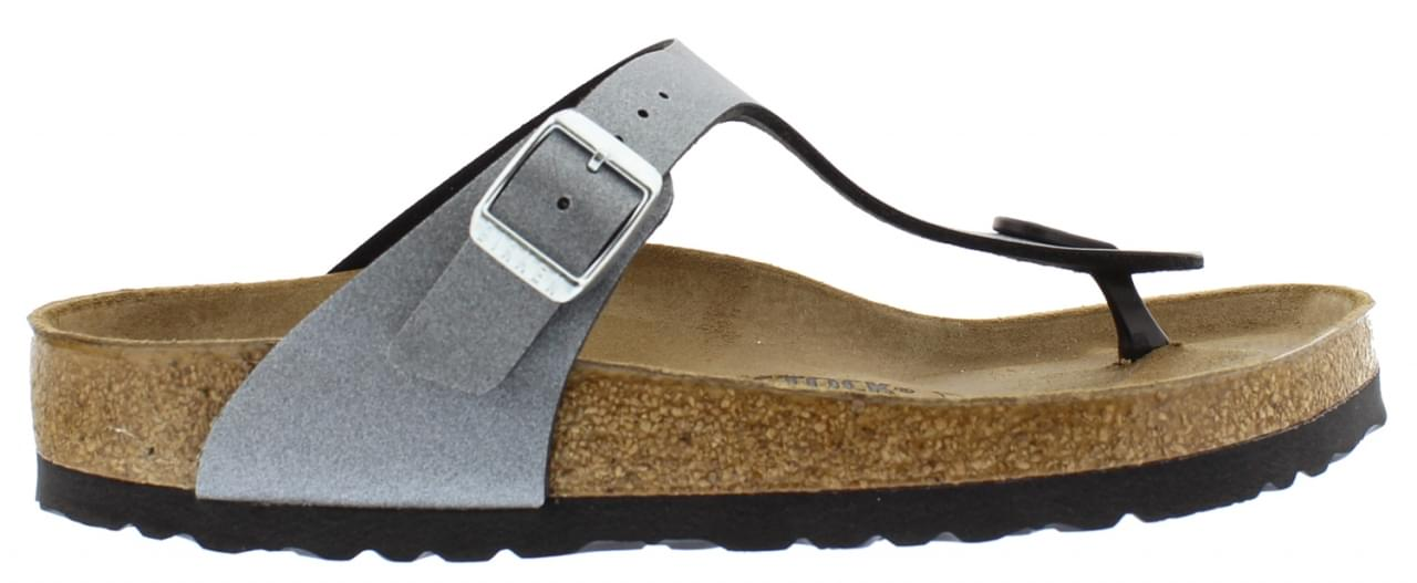 Birkenstock Gizeh Icy Metallic Slipper Dames
