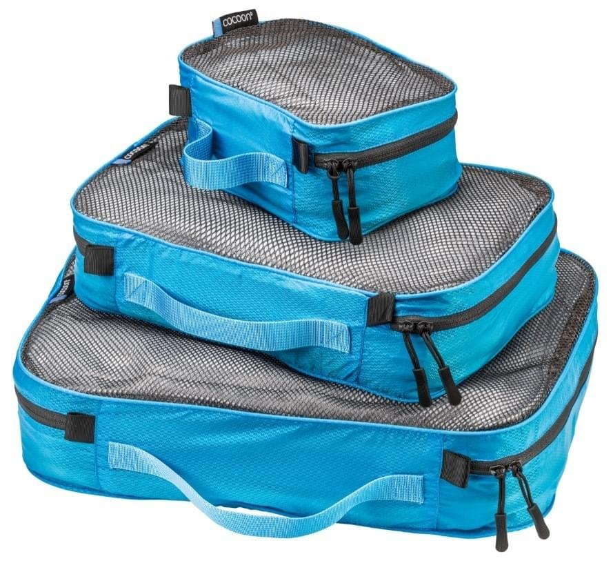 Cocoon Packing Cube Ultralight Set - Blauw